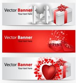 Love banners - Illustration