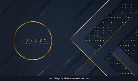 luxury background golden black decor abstract design