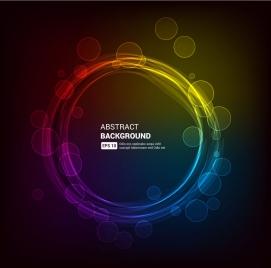 magic circle abstract background