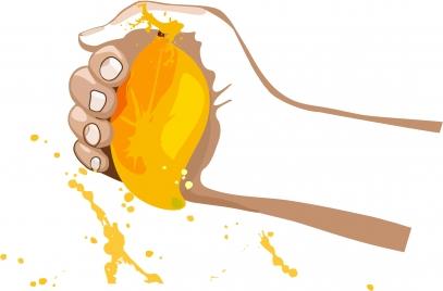 mango hand squeeze