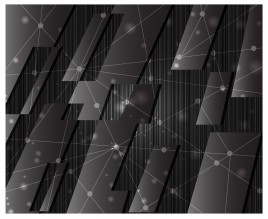 metal network abstract background