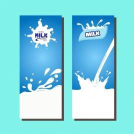 milk leaflet sets white liquid decoration