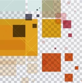 modern background flat colorful transparent geometry decor