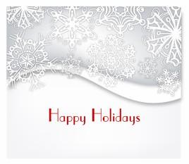Modern Holiday Card Design