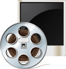 MOVIE ROLL AND FRAME