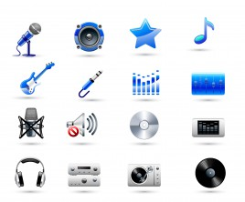 music icons collections