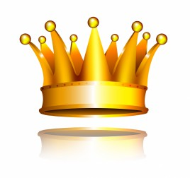 Object crown vector art