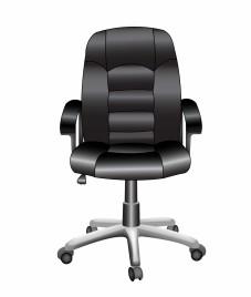 Object office chair vector art
