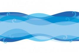 Ocean vector background