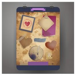 paper board design element