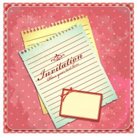 paper invitation card