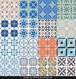 pattern elements templates symmetrical illusion shapes