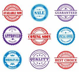 Promotional sales Design elements