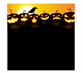 Pumpkins at Dusk