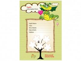 pupils information form