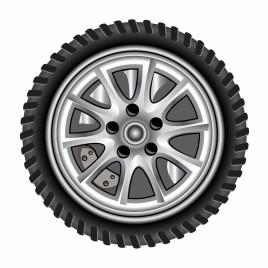 Realistic wheel