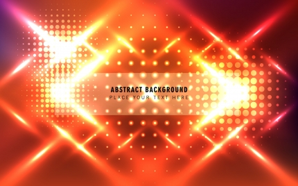red light abstract background