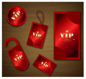 red vip card