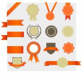 Retro Award design Elements