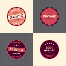 retro badge design collection