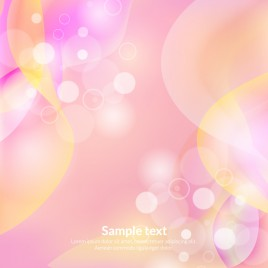 romantic circle and curve abstract background