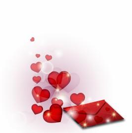 Romantic passionate letter