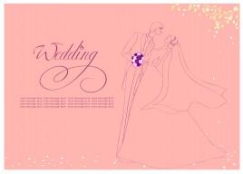 romantic wedding background
