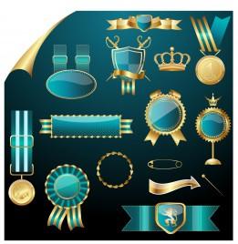 royal label badge