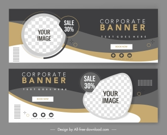 sale poster template elegant modern checkered swirled decor