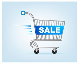 Sale shopping cart