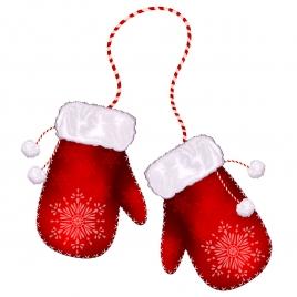 santa glove