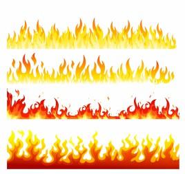 Seamless flame