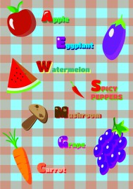 simple english learning design