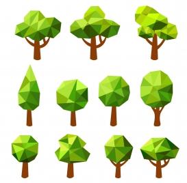 simple geometric tree set