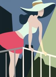 skirt fashion design woman icon cartoon style
