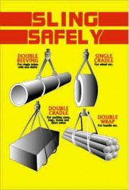 Sling Safety awareness poster