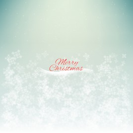 snow merry christmas background