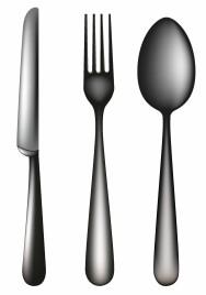 spoon knife fork