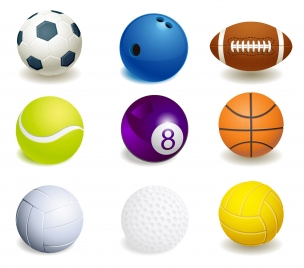 sport ball collection