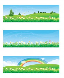 Spring and Summer Banners