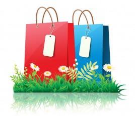 Spring time shopping