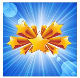 Star burst background vector art