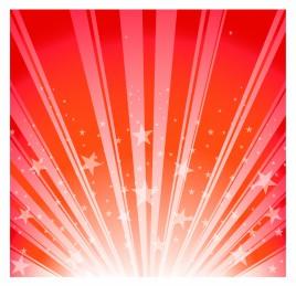Star Burst - Red