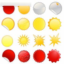 Starburst icons