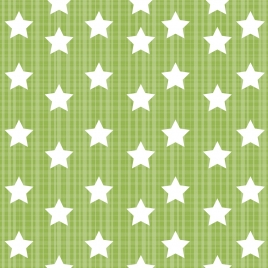 stars pattern repeating icons green classical design