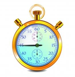 stopwatch gold