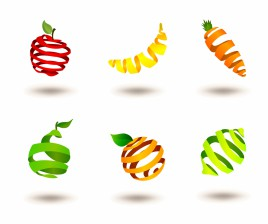 Striped fruits