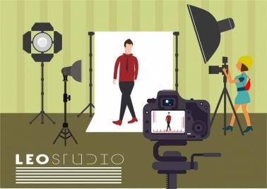 studio theme model tools arrangement design