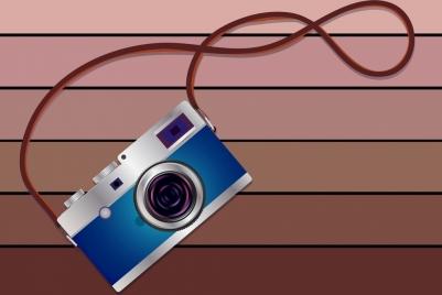 studio work background camera icon shiny colored design