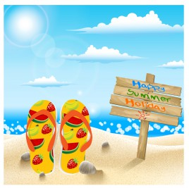 summer holiday concept